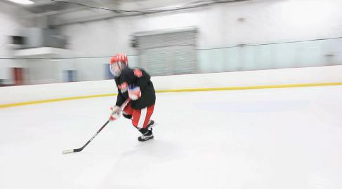 kid hockey training