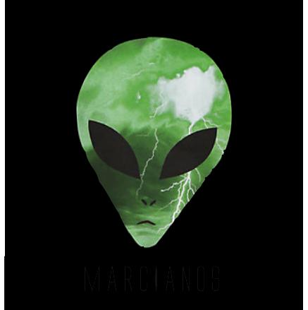 marcianos hockey logo